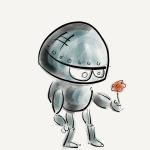 お前は機械か?ロボットか?